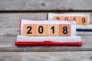 2018年から2019年にかけてのカレンダー画像